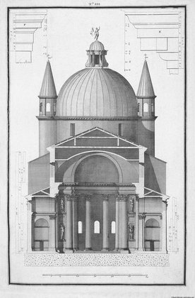 Il Redentore; section (plate T III)